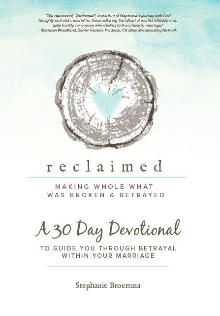 Reclaimed devotional first chapter download